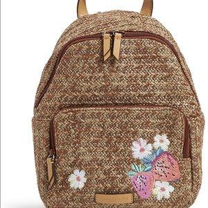 Vera Bradley Mini Straw Backpack